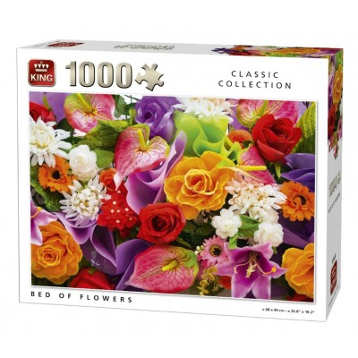 Puzzle  King-Puzzle-05647 Bed of Flowers