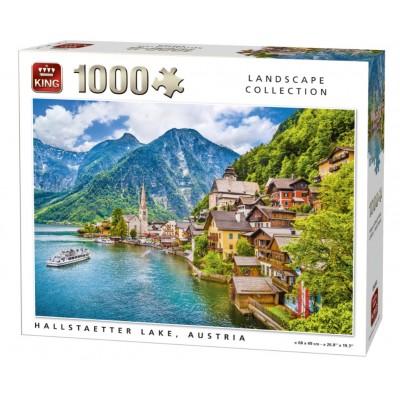 Puzzle King-Puzzle-05650 Hallstatt, Österreich