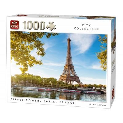 Puzzle  King-Puzzle-05661 Eiffelturm, Paris