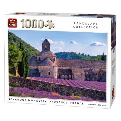 Puzzle King-Puzzle-05663 Notre-Dame de Sénanque, Frankreich