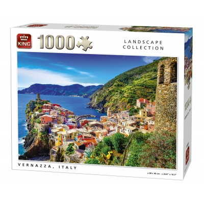 Puzzle  King-Puzzle-05665 Vernazza, Italien