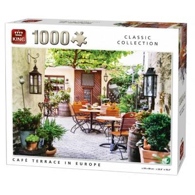 Puzzle  King-Puzzle-05670 Café Terrace in Europe