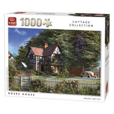 Puzzle King-Puzzle-05679 Dominic Davison - Roses House