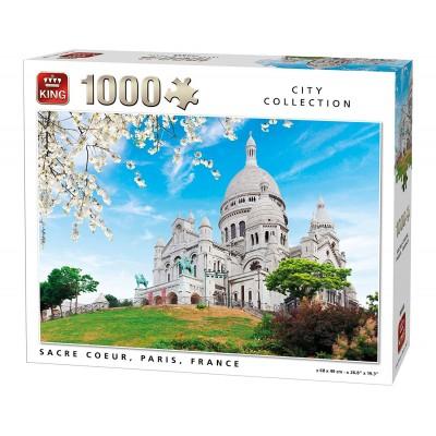 Puzzle  King-Puzzle-05703 Sacré Coeur, Paris