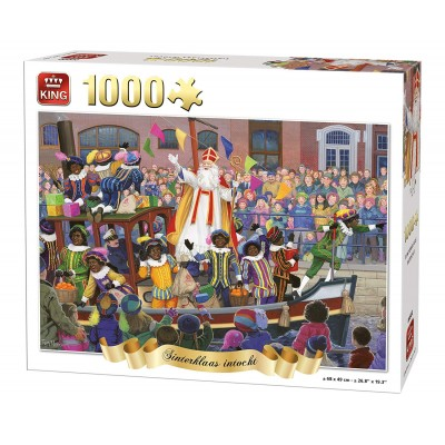 Puzzle King-Puzzle-05744 Sinterklaas intocht