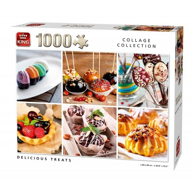 Puzzle  King-Puzzle-05766 Collage - Delicious Treats