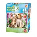 Puzzle  King-Puzzle-05774-B Animal World