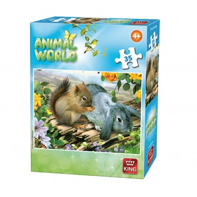 Puzzle  King-Puzzle-05774-C Animal World