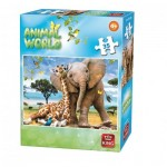 Puzzle  King-Puzzle-05774-D Animal World