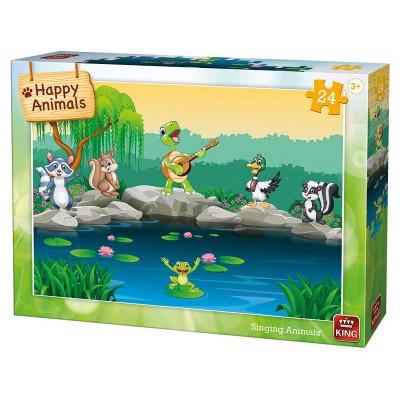Puzzle King-Puzzle-05782 Singing Animals