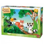 Puzzle  King-Puzzle-05783 Animals in the Tree