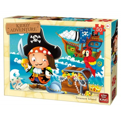 Puzzle  King-Puzzle-05787 Treasure Island