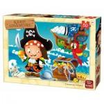Puzzle  King-Puzzle-05787 Treasure Island
