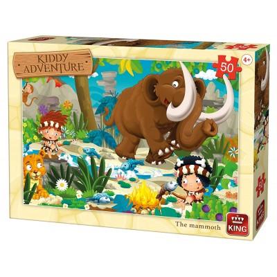 Puzzle  King-Puzzle-05791 Das Mammut