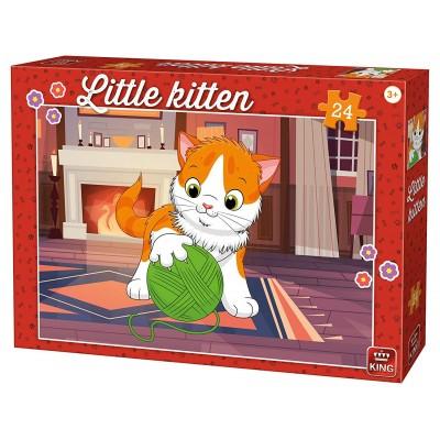 Puzzle  King-Puzzle-05796 Kätzchen
