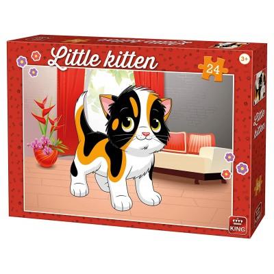 Puzzle King-Puzzle-05797 Kätzchen