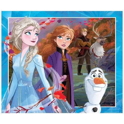 King-Puzzle-55824 Riesen-Bodenpuzzle - Frozen