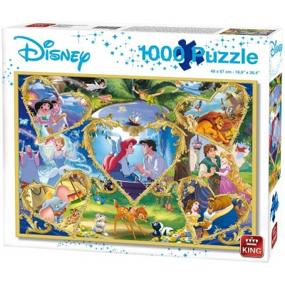 Puzzle  King-Puzzle-55829 Disney - Movie Magic