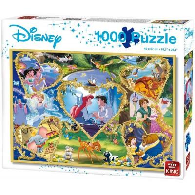 Puzzle King-Puzzle-55829 Disney - Movie Magic