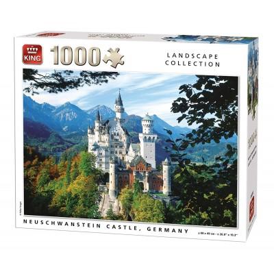Puzzle  King-Puzzle-55855 Neuschwanstein