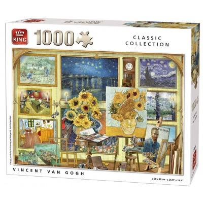 Puzzle  King-Puzzle-55865 Vincent Van Gogh - Collage
