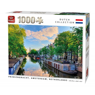 Puzzle  King-Puzzle-55867 Prinsengracht Canal Amsterdam