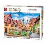 Puzzle  King-Puzzle-55883 Rothenburg ob der Tauber