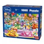 Puzzle  King-Puzzle-55887 Disney Mad Tea Cup