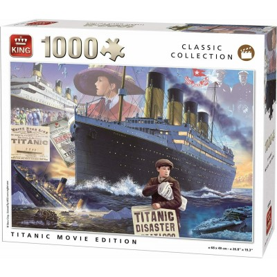 Puzzle King-Puzzle-55933 Titanic Movie Edition