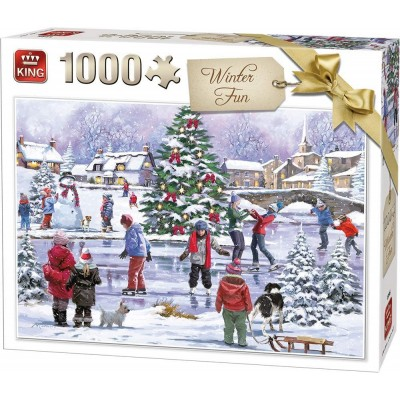 Puzzle  King-Puzzle-55935 Winter Fun