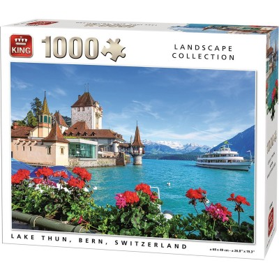Puzzle King-Puzzle-55941 Lake Thun, Bern, Switzerland