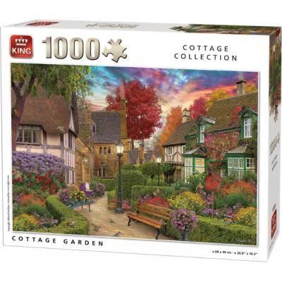 Puzzle  King-Puzzle-55955 Cottage Garden