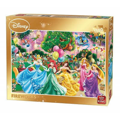 Puzzle  King-Puzzle-85522 Disney - Fireworks