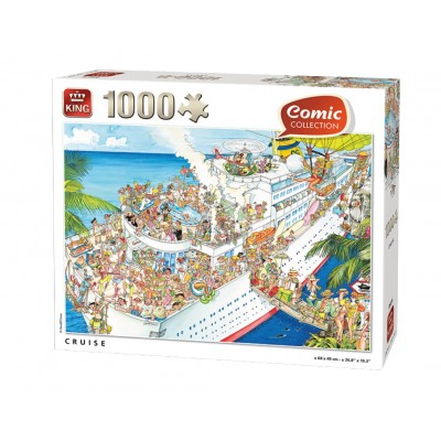 Puzzle  King-Puzzle-85576-B Cruise