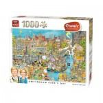 Puzzle  King-Puzzle-85576-C Amsterdam King's Day