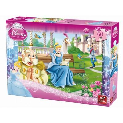 Puzzle  King-Puzzle-K04735-A Disney Prinzessinnen