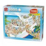 Puzzle  King-Puzzle-K05075 Comic Collection - Kreuzfahrt
