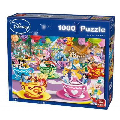 Puzzle King-Puzzle-K05125 Disney Mad Tea Cup