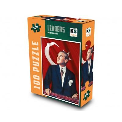 Puzzle  KS-Games-11170 Bayrak Ve Atatürk