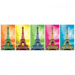 Puzzle  KS-Games-11223 Pop Art: Eiffelturm