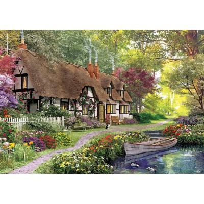 Puzzle  KS-Games-11354 Dominic Davison: Landhaus am Waldrand