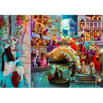 Puzzle  KS-Games-11360 Aimee Stewart: Karneval von Venedig