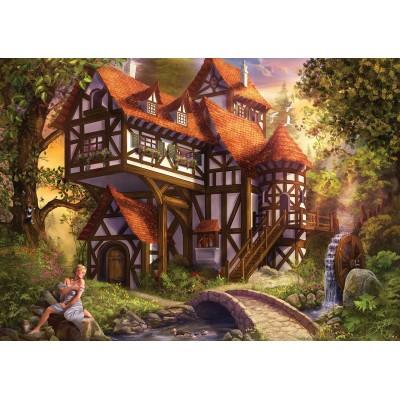 Puzzle  KS-Games-11387 Drazenka Kimpel - Watermill