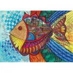 Puzzle  KS-Games-11468 Farbenfroher Fisch