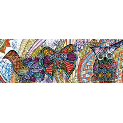 Puzzle  KS-Games-11483 Butterfly & Owl