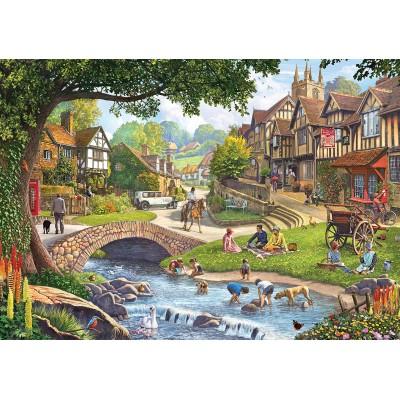 Puzzle  KS-Games-20516 Summer Village Stream