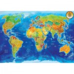 Puzzle  KS-Games-22011 World Political map