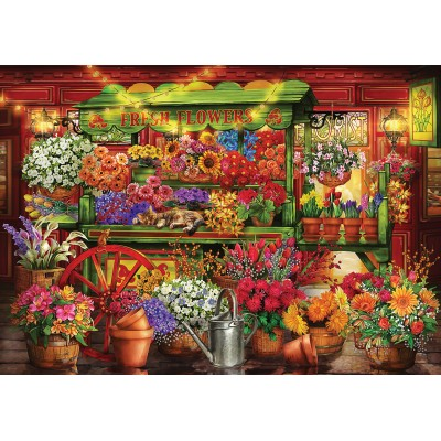 Puzzle  KS-Games-23002 Market Stall