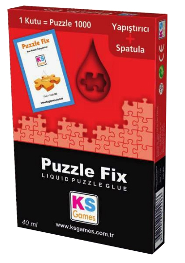 KS-Games-T228 Puzzlekleber für 1000 Teile - 40 ml