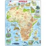 Larsen-A22-FR Rahmenpuzzle - Africa (auf Französisch)